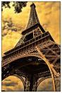 Miniature : Carte postale de la tour Eiffel à Paris