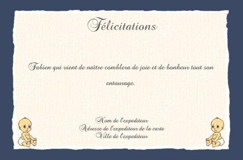 Faire Part De Felicitations De Naissance Gratuit A Imprimer Theme Petits Anges