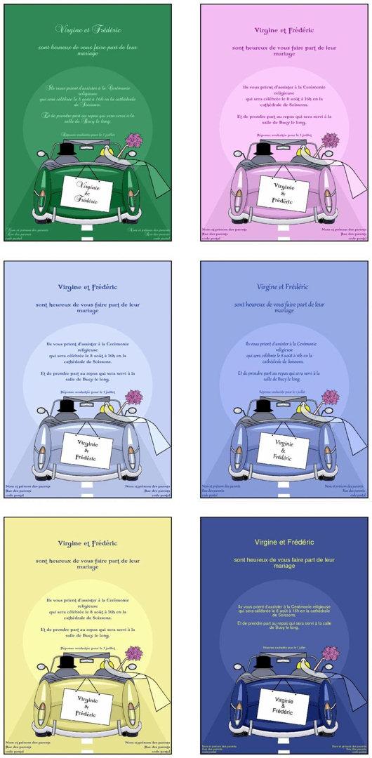 faire part mariage gratuit pdf
