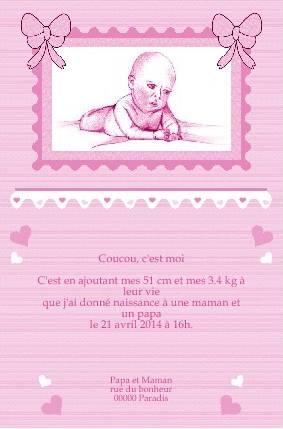 Faire part de naissance gratuit imprimer a - Image religieuse gratuite a imprimer ...