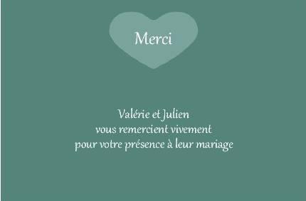 faire part de remerciementsmariage carte de remerciement de mariage avec photo - Carte De Remerciement Mariage Gratuite Imprimer
