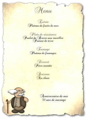 Marque Restaurant Menu