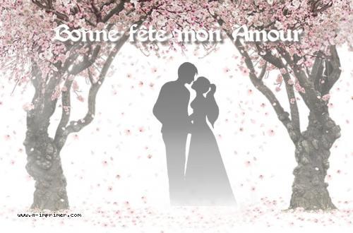Une carte postale pour déclarer son amour