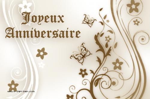 Carte Postale Gratuite A Imprimer Anniversaire Joyeux Anniversaire