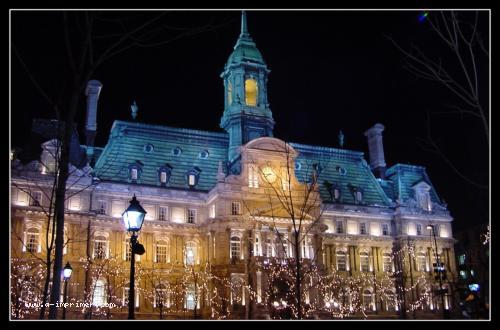 Carte Postale Gratuite A Imprimer Architecture Hotel De Ville Montreal