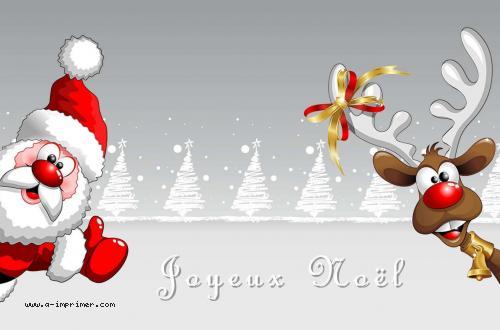 Carte Postale Gratuite à Imprimer Fin Annee Noël