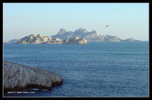 Carte postale gratuite à imprimer Mer - Marseille - A-Imprimer.com