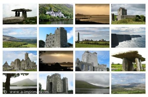 Beliebt Carte postale gratuite à imprimer Paysages - Irlande - A-Imprimer.com MH36
