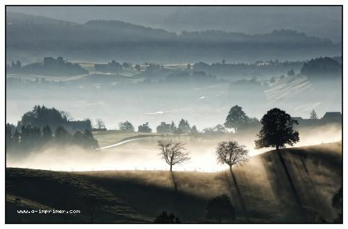 Un joli paysage de suisse